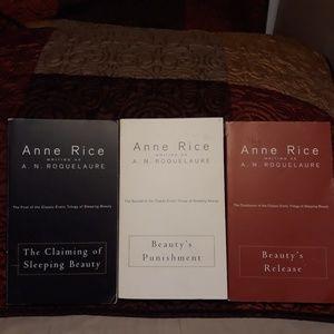 Anne Rice A.N. Roquelaure Eroctica Beauty Trilogy